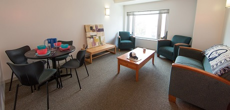 Residence Hall living room