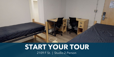 tour 2109 F st 2-person studio
