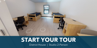 Tour District studio 2 person
