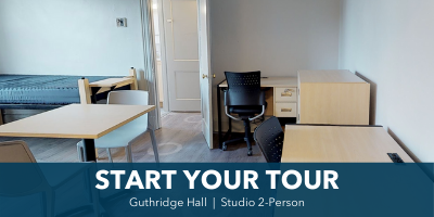 Tour Guthridge 2-person studio