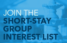 Join the Short Stay Group Interest List