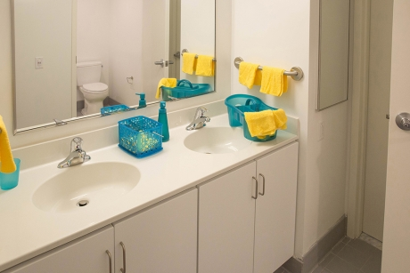 District House: Affinity unit bathroom