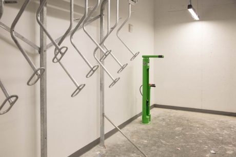 District House: Bike Storage Room