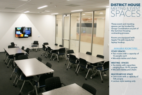 District House: Meeting & Event Spaces