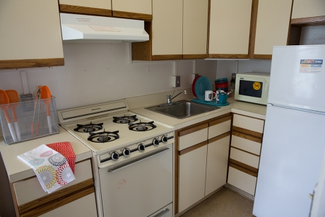 Building Group 1 Studio Apartment: FSK Hall, Kitchen