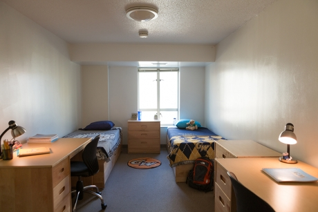Building Group 3 Apartment: Shenkman Hall, Bedroom