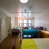 A Thurston Hall 4-person room on the Foggy Bottom Campus