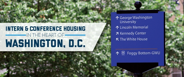 Intern Housing at George Washington University