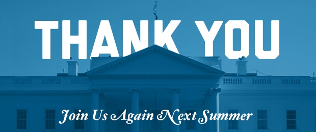 Thank You and join us again next summer